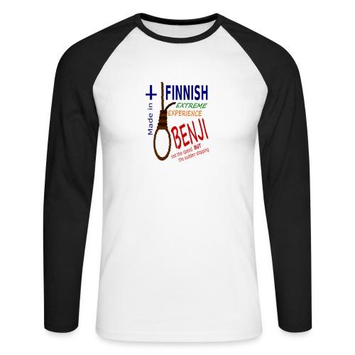 FINNISH-BENJI - Men's Long Sleeve Baseball T-Shirt