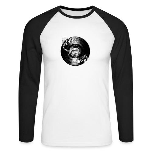 The Merry Pranksters Till Midnight - Black T-Shirt - Men's Long Sleeve Baseball T-Shirt