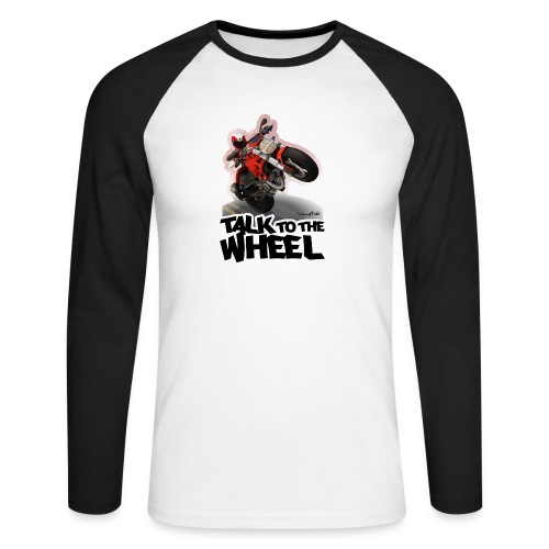 Ducati Monster Wheelie B - Raglán manga larga hombre