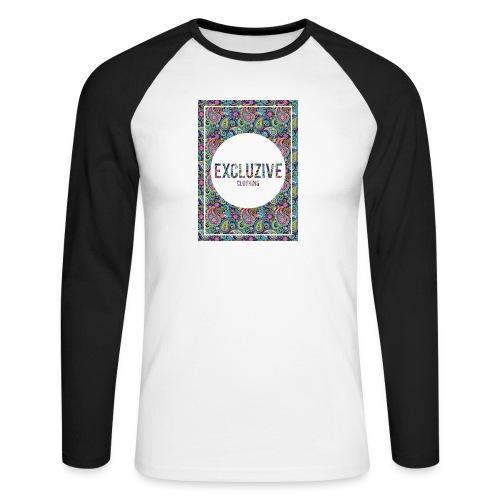 Colour_Design Excluzive - Men's Long Sleeve Baseball T-Shirt