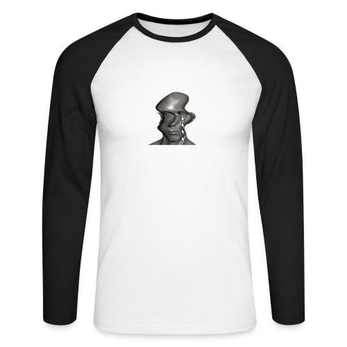 cursor_tears - Men's Long Sleeve Baseball T-Shirt
