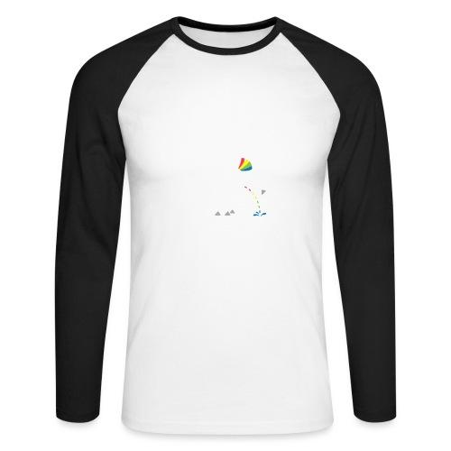 Dru - bunt pinkeln - Männer Baseballshirt langarm