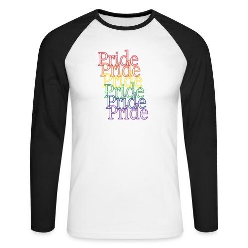 Pride | Regenbogen | LGBT - Männer Baseballshirt langarm