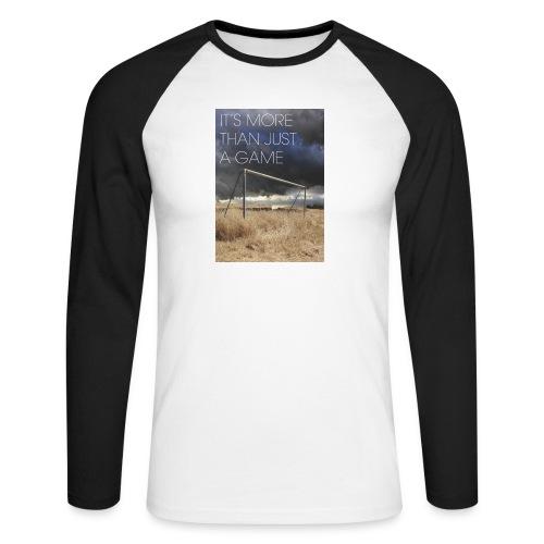 more - Men's Long Sleeve Baseball T-Shirt