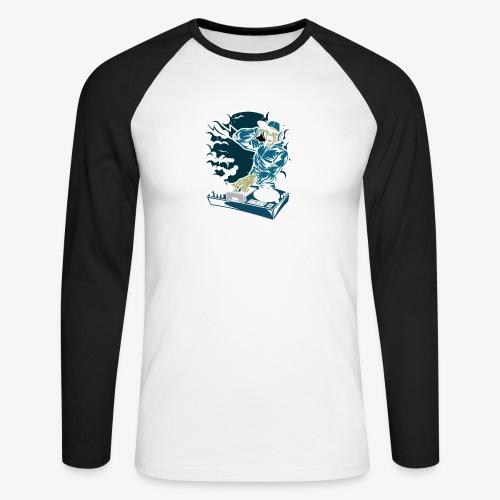 deejay - T-shirt baseball manches longues Homme