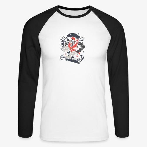 Dj électro - T-shirt baseball manches longues Homme