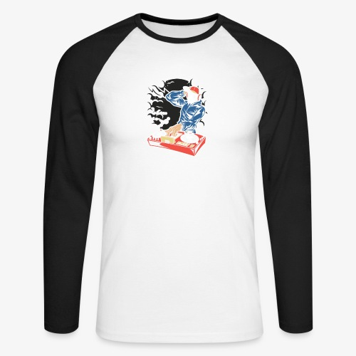 Deejay house - T-shirt baseball manches longues Homme