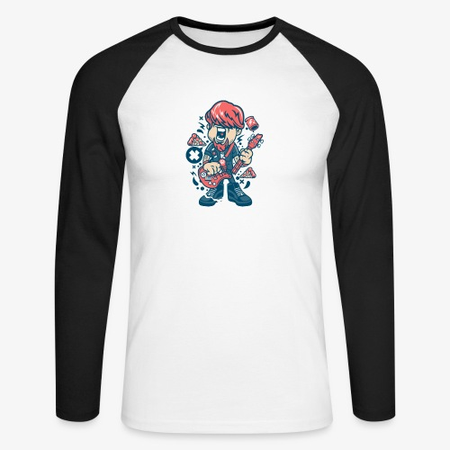 Guitariste - T-shirt baseball manches longues Homme