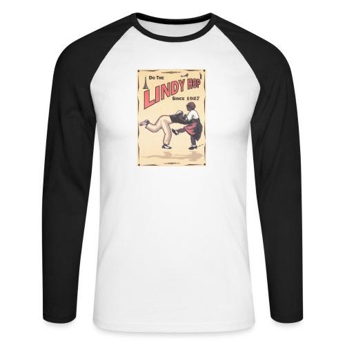 Do the Lindy Hop Since 1927 - Långärmad basebolltröja herr