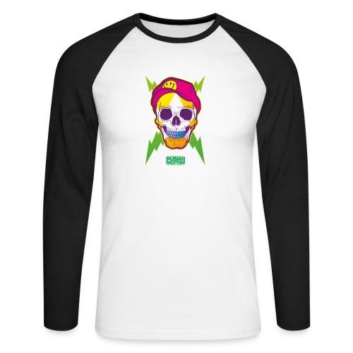 header1 - Men's Long Sleeve Baseball T-Shirt
