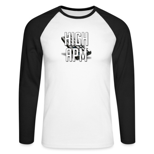 XpHighAPM - T-shirt baseball manches longues Homme