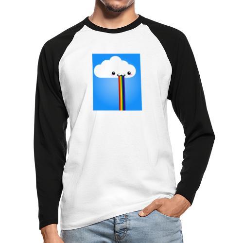 rainbow - Männer Baseballshirt langarm