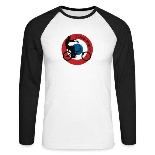 Cocarde Chopper - T-shirt baseball manches longues Homme