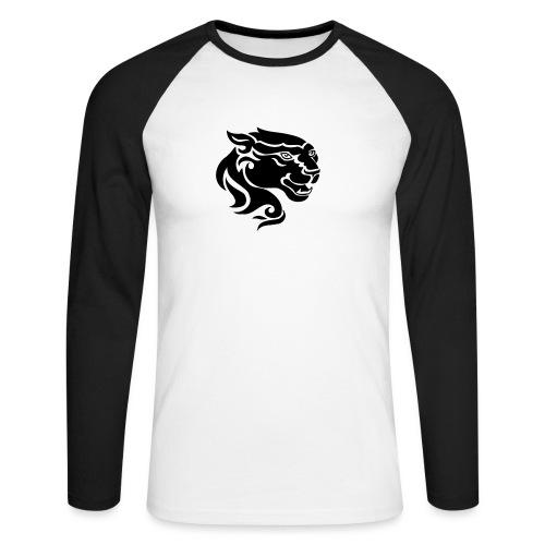 Panther - Männer Baseballshirt langarm