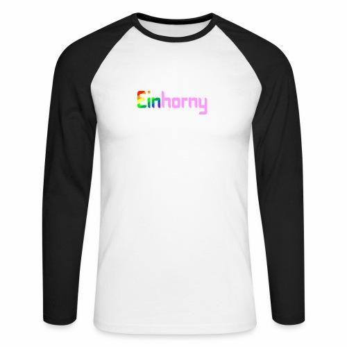 Einhorny - Männer Baseballshirt langarm