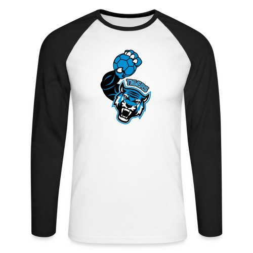 Tigers Hand - T-shirt baseball manches longues Homme