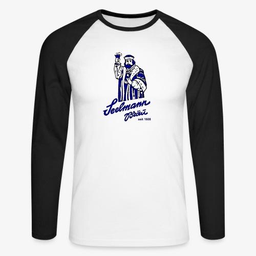 krugNovA2 gif - Männer Baseballshirt langarm