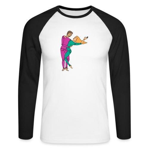 On aime la danse - T-shirt baseball manches longues Homme