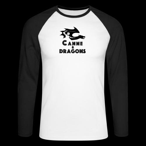 logoC D N B2 - T-shirt baseball manches longues Homme