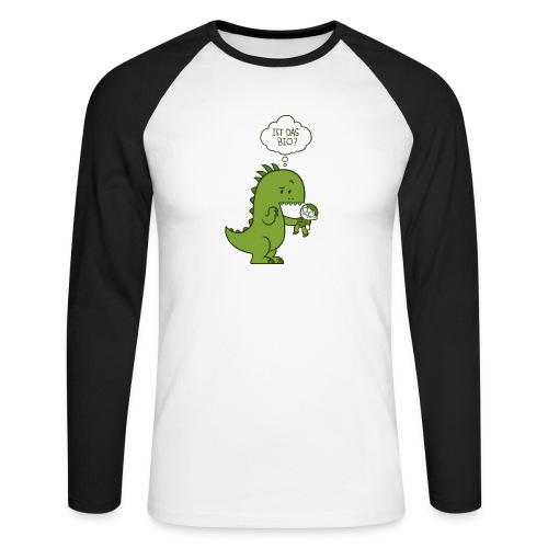 Bio-Dinosaurier - Männer Baseballshirt langarm