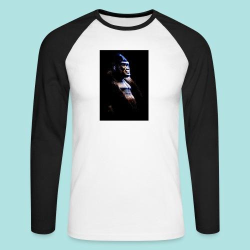 Respect - Men's Long Sleeve Baseball T-Shirt