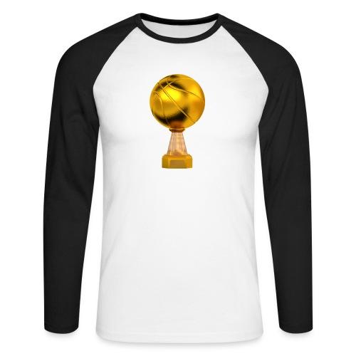 Basketball Golden Trophy - T-shirt baseball manches longues Homme