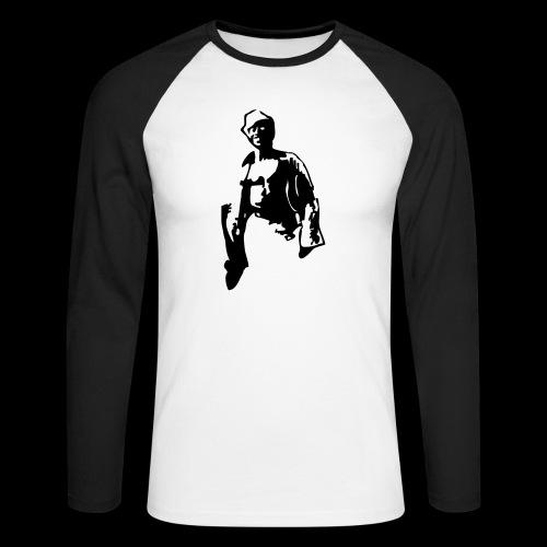 billy_guitar1 - Männer Baseballshirt langarm