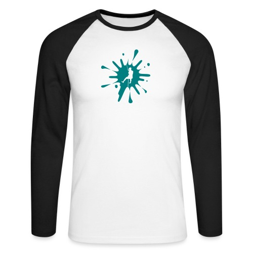 cs Canyoning Splash - Männer Baseballshirt langarm