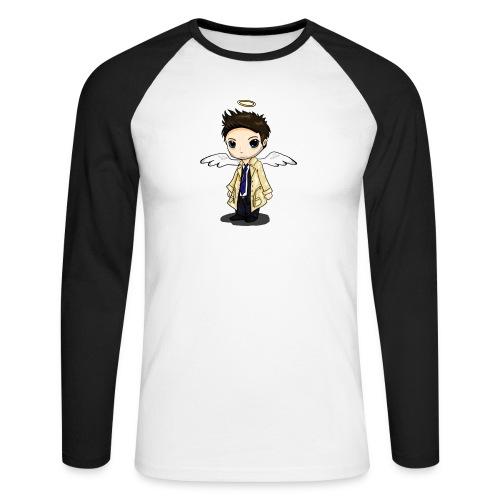 Team Castiel (dark) - Men's Long Sleeve Baseball T-Shirt