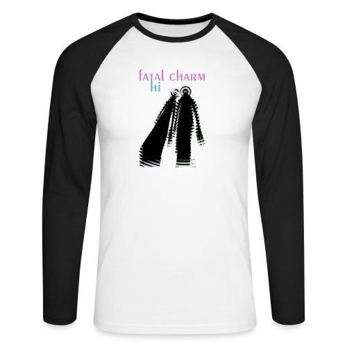 fatal charm - hi album cover art - Men's Long Sleeve Baseball T-Shirt