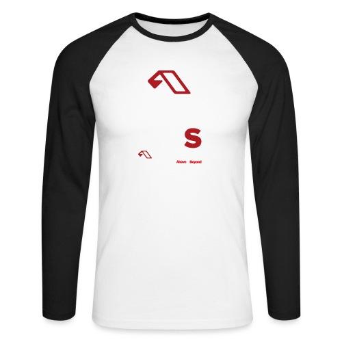happynessamplified - Men's Long Sleeve Baseball T-Shirt