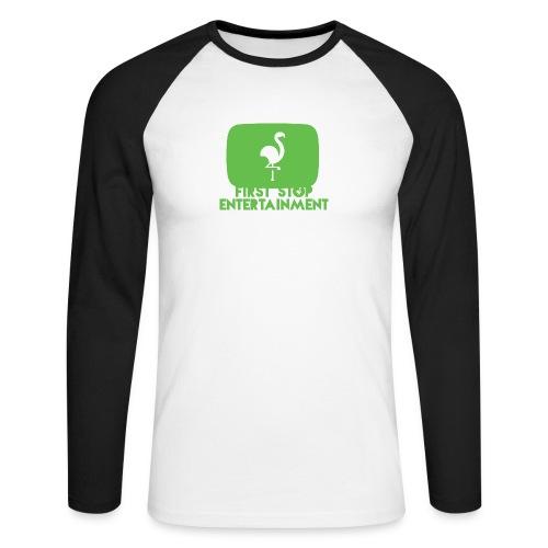 Box Logo png - Langermet baseball-skjorte for menn