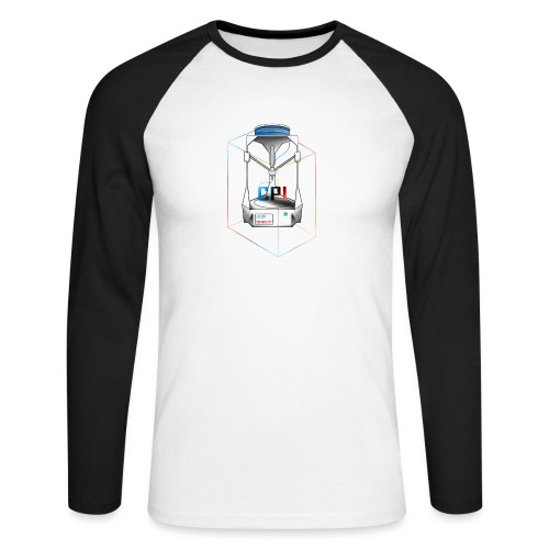 New Logo CPI - T-shirt baseball manches longues Homme