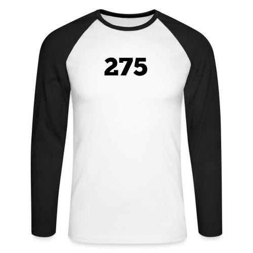 275 - Men's Long Sleeve Baseball T-Shirt