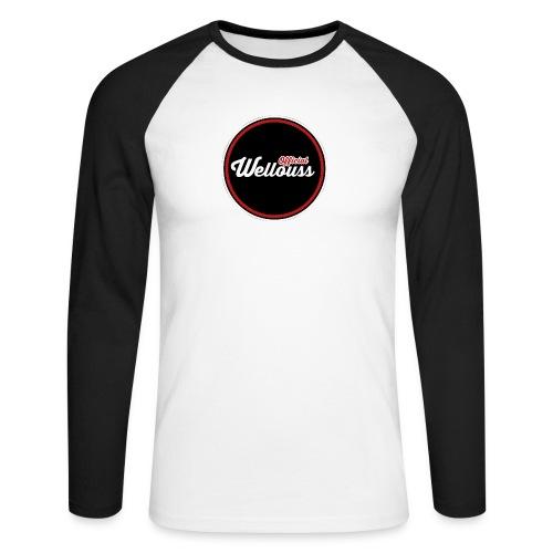 Wellouss Fan T-shirt   Rood - Mannen baseballshirt lange mouw