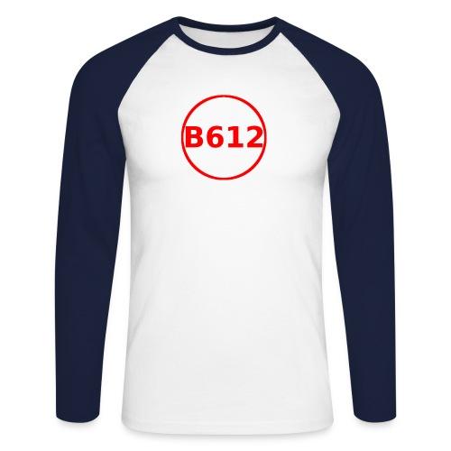 b612 png - Maglia da baseball a manica lunga da uomo