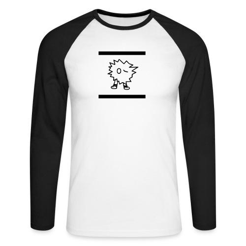 Fuzzles - Männer Baseballshirt langarm