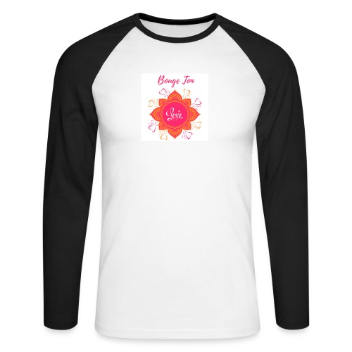 Bouge ton Love! - T-shirt baseball manches longues Homme