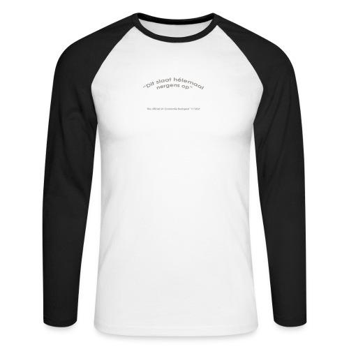 PaulRiedstraAchter - Mannen baseballshirt lange mouw