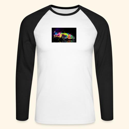 T-Shirts - Mannen baseballshirt lange mouw