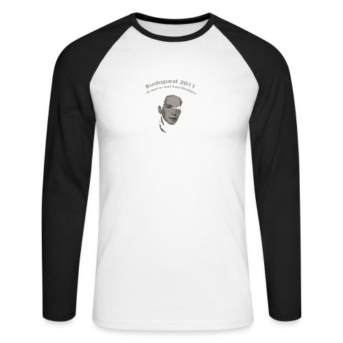 PaulRiedstraVoor - Mannen baseballshirt lange mouw