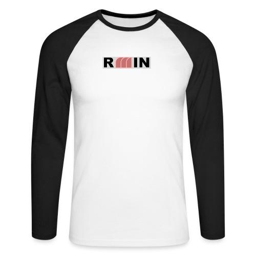 RMIN - Maglia da baseball a manica lunga da uomo