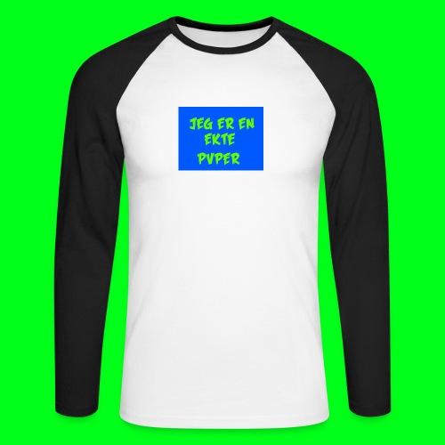 GotPvpGeneseren - Langermet baseball-skjorte for menn