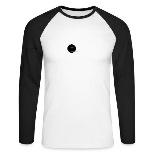 youtube logo - Mannen baseballshirt lange mouw