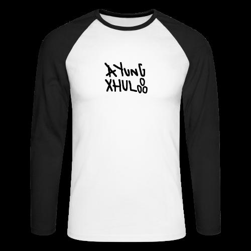 AYungXhulooo - Original - SloppyTripleO - Men's Long Sleeve Baseball T-Shirt
