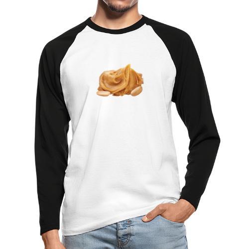 Pindacheese - Mannen baseballshirt lange mouw