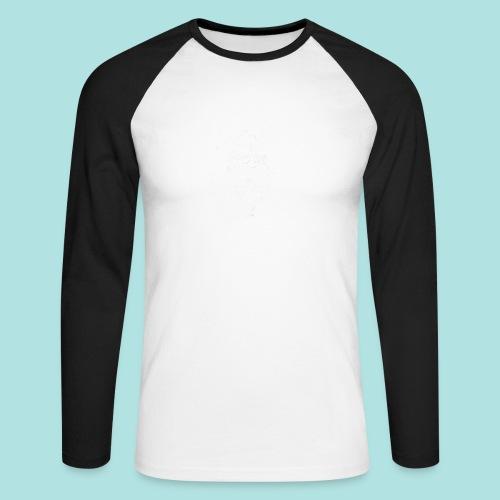 Old Guy, Eyes Open. - Men's Long Sleeve Baseball T-Shirt