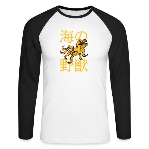 OctoRex - Men's Long Sleeve Baseball T-Shirt