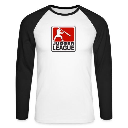 Jugger LigaLogo - Männer Baseballshirt langarm