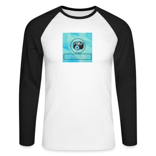 My Logo! - Männer Baseballshirt langarm